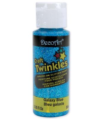 DecoArt Craft Twinkles Glitter Paint-2oz