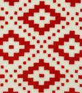 Sew Lush Fabric 57\u0022-Red Aztec Geo