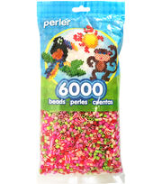 Perler Beads 6,000 Count-Floral Mix, , hi-res