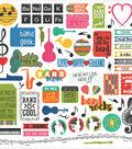 Band Stickers 12\u0022X12\u0022-Elements