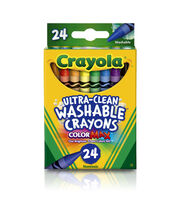 Crayola Washable Crayons-24PK, , hi-res