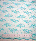 Casa Collection™ Chantilly Lace Fabric 54\u0027\u0027-Blue Radiance
