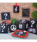 Square By Design®-Hashtag 25\u0022 Woven Square