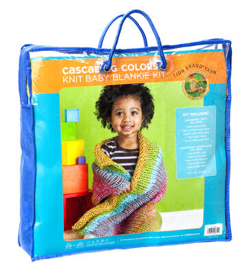 Cascading Colors Baby Throw