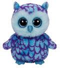 TY Beanie Boo Oscar Blue Purple Owl