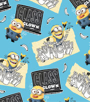 Minions Class Clown Toss Cotton Fabric, , hi-res