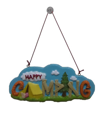 Maker's Holiday Christmas Ornament-Happy Camping