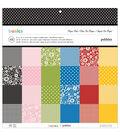 Pebbles Basics Paper Pad 12\u0022x12\u0022