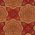 Waverly Print Fabric 54\u0022-Tapestry Tile/Cordial
