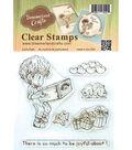 Dreamerland Crafts Clear Stamp Set 4\u0027\u0027x4\u0027\u0027-So Much To Be Joyful About