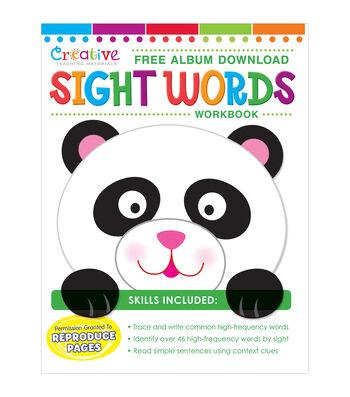 Creative Teaching Materials Workbook-Sight Words