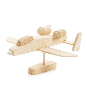Wood Model Kit-Bomber