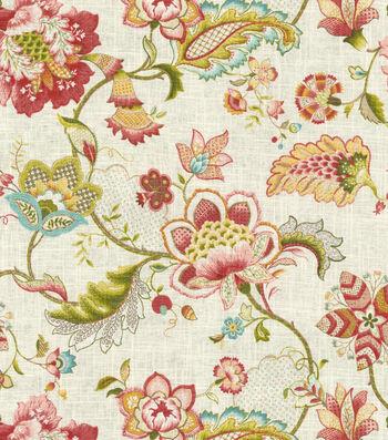 """Upholstery Fabric 54""""-Palladium Blossom"""