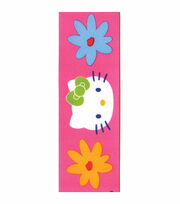 Hello Kitty® Pink Floral Ribbon, , hi-res