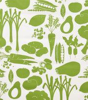 "Alexander Henry Cotton Fabric 44""-Farmers Market Green, , hi-res"