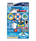 Reminisce Signature Dimensional Stickers Cruise