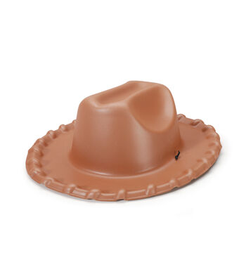 Foam 3-D Cowboy Hat Brown