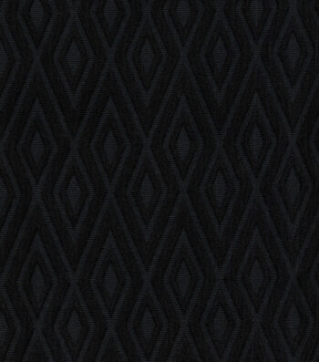 Waverly Solid Fabric-Fantastical/Ebony