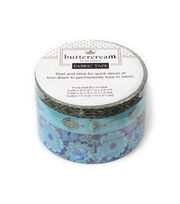Buttercream™ Stella Collection Fabric Tape Blue Poppy, , hi-res