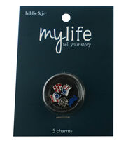 hildie & jo™ My Life 5 Pack Locket Charms-USA, , hi-res