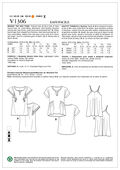 Mccall Pattern V1306 Y (Xsm-Sml-Vogue Pattern