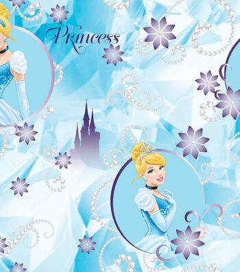 Disney® Cinderella Satin Fabric 57''-Tiaras Jewels