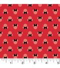 Disney® Minnie Mouse Mock Smock Cotton Fabric 21\u0022-Bow