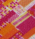 Anti- Pill Fleece Fabric- Washi Tape
