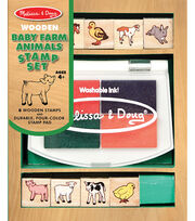 Melissa & Doug Baby Farm Animals Stamp Set, , hi-res