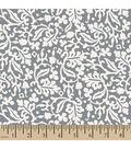 Snuggle Flannel Fabric 42\u0022-Vitilia Scroll