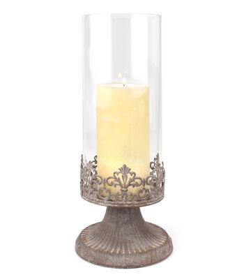Hudson 43™ Candle & Light Collection LargeParisian Market Pillar Hurricane