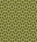 Home Decor 8\u0022x8\u0022 Fabric Swatch-Print Fabric Robert Allen Cats Cradle Grass