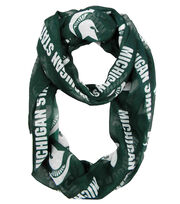 Michigan State University Spartans University Infinity Scarf, , hi-res
