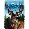 Wonderart Classic Latch Hook Kit 20\u0022X30\u0022-Deer
