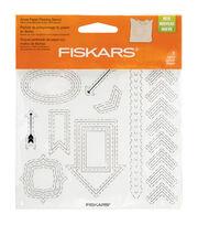 """Fiskars Paper Piercing Stencil 6"""" x 6"""" - Arrows, , hi-res"""