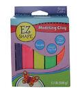EZ Shape Modeling Clay Non-Hardening-Brights 5/Pkg