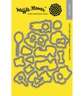 Waffle Flower Die-Pawsome