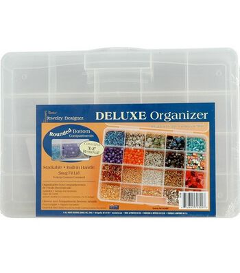Jewelry Designer Deluxe Organizer-20 Compartments