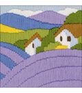 RIOLIS Longstitch Kit 4.75\u0022X4.75\u0022-Lavender