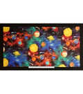 Novelty Cotton Fabric Panel 44\u0022-Outer Space