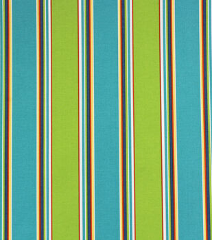 SolariumR Outdoor Fabric 54 Blue Green Stripes