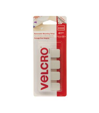 VELCRO®  RemovableMounting Strips