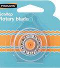 Fiskars Rotary Trimmer Replacement Blade-28mm Scallop