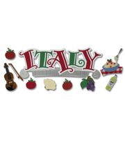 Jolee's Boutique Title Wave Stickers-Italy, , hi-res