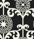Waverly Upholstery Fabric 54\u0022-Fun Floret/Licorice