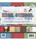 DCWV 8\u0022x8\u0022 Premium Paper Stack-High School