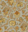 Waverly Upholstery Fabric 54\u0022-Tennyson/Topaz