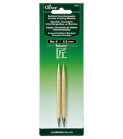 Clover Takumi Interchangeable Circular Knitting Needles Size 9/5.5mm, , hi-res
