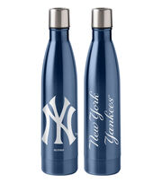 New York Yankees 18 oz Insulated Stainless Steel Water Bottle, , hi-res