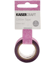 Hot Pink -glitter Tape 5 Meter, , hi-res